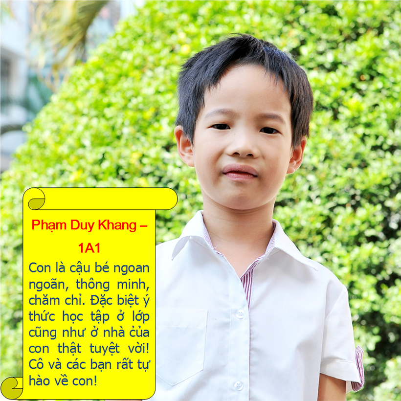 Hs tieu bieu t9 02 Student of the month – September