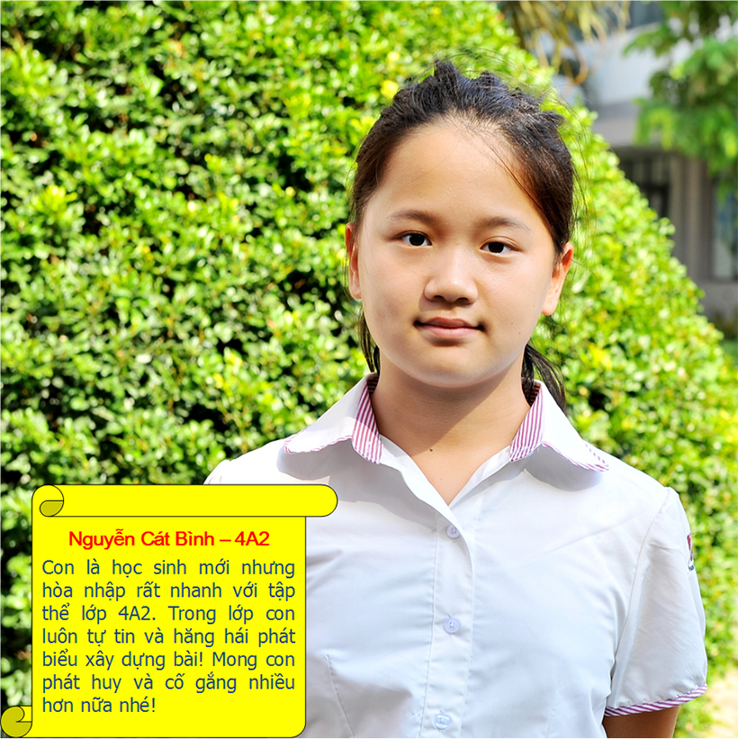 Hs tieu bieu t9 11 Student of the month – September