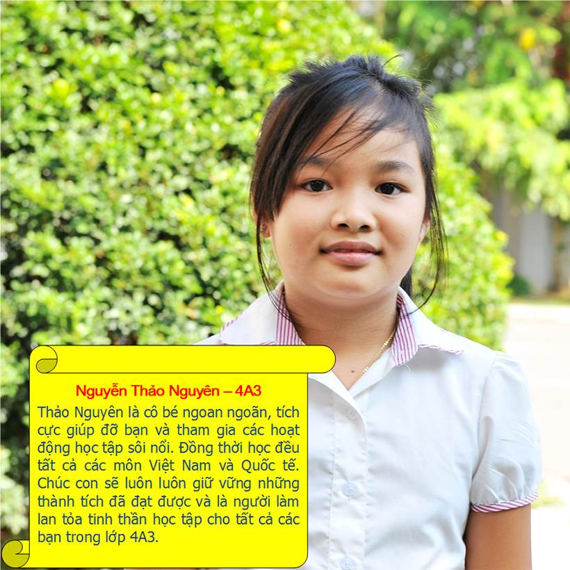 Hs tieu bieu t9 12 Student of the month – September