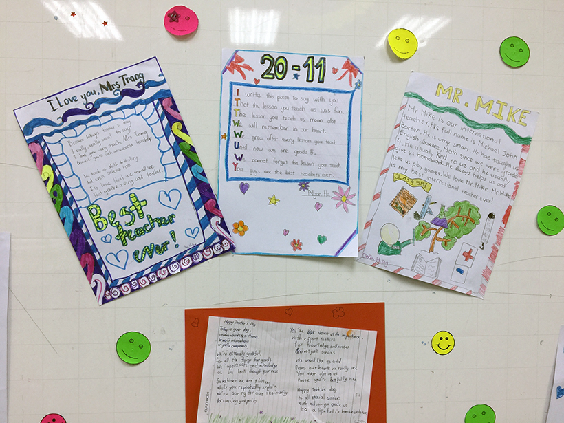 Lovely words for our teachers 2 Lovely words for our teacher