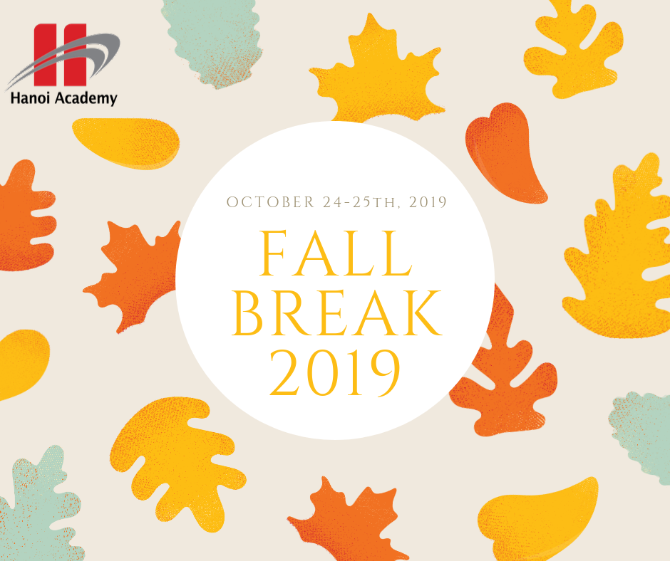 Notice: Fall Break 2019-2020 Notice: Fall Break 2019-2020