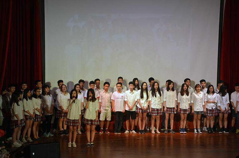 Le be giang Trung hoc 15-16 6 Lễ bế giảng Trung học Hanoi Academy năm học 2015 – 2016 – Những phút giây không thể nào quên