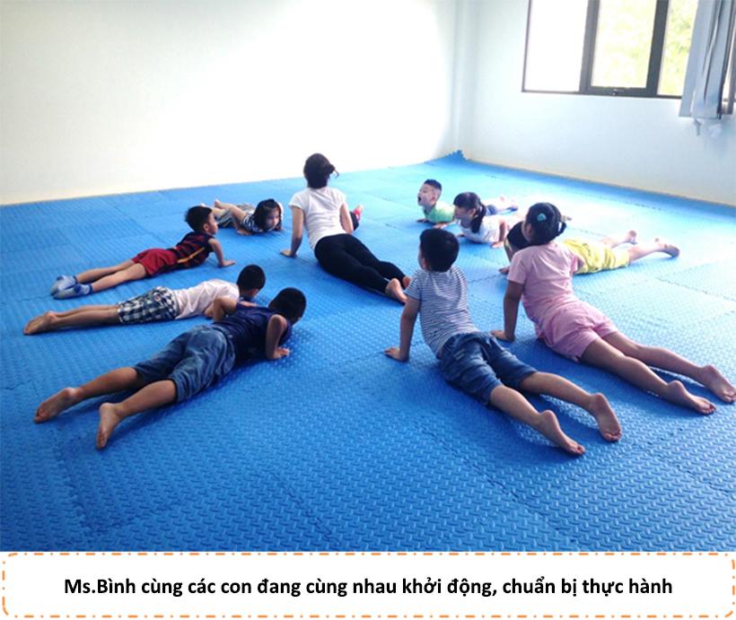 HA nhap mon Yoga he 2016 02 Hanoi Academy nhập môn Yoga hè 2016
