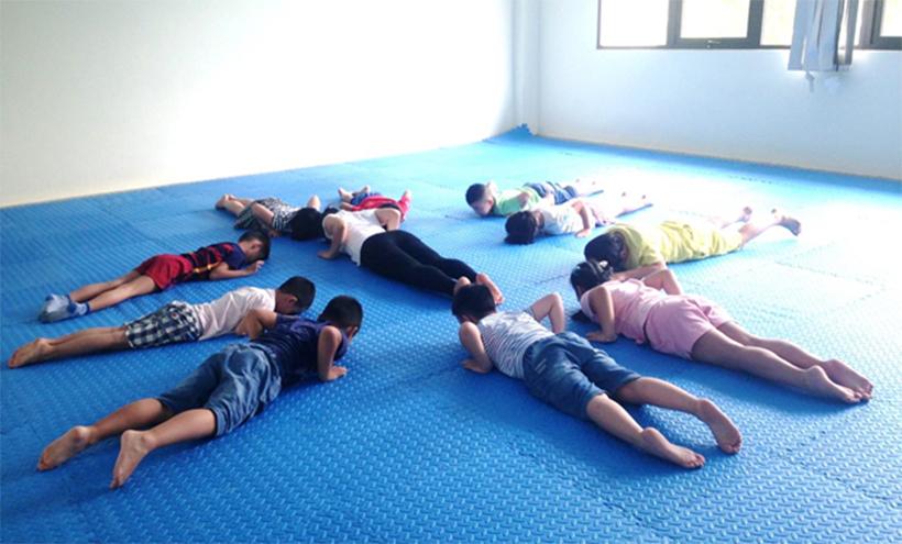 HA nhap mon Yoga he 2016 03 Hanoi Academy nhập môn Yoga hè 2016