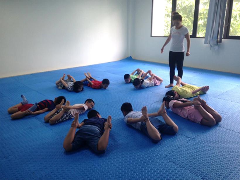 HA nhap mon Yoga he 2016 16 Hanoi Academy nhập môn Yoga hè 2016