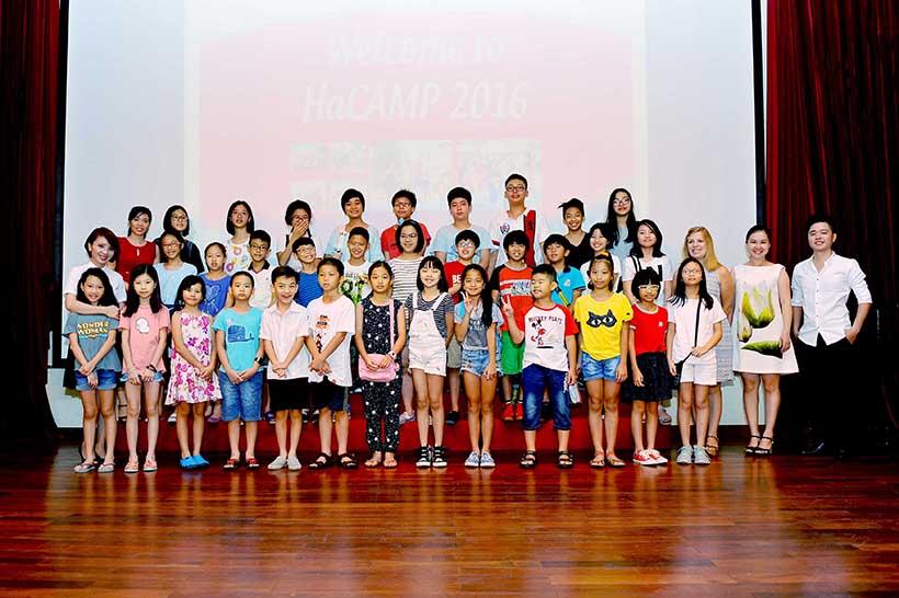 HaCAMP2016 dot 2 12 Khai mạc trại hè HaCAMP 2016 đợt II