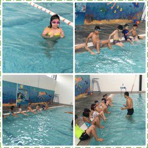 Học bơi chưa bao giờ vui đến thế…