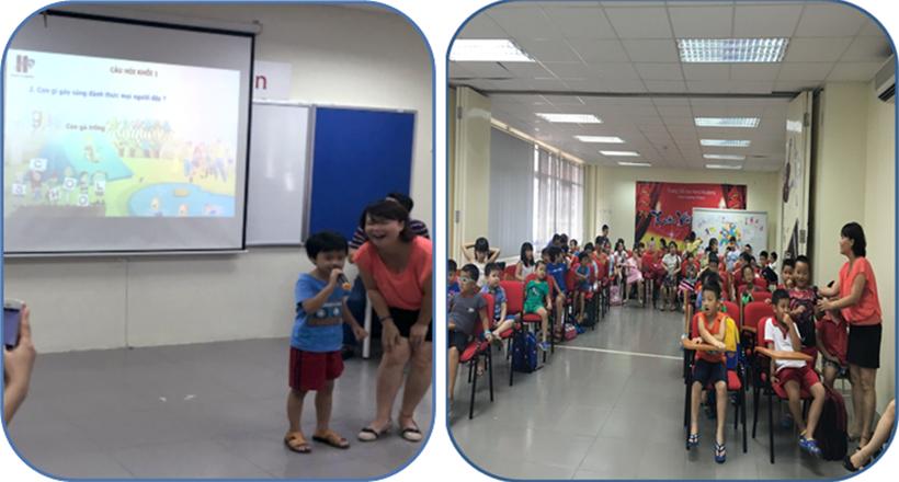 Soi dong cung trai he khoa 2 3 Sôi động cùng trại hè khóa 2 – Trường Tiểu học Hanoi Academy