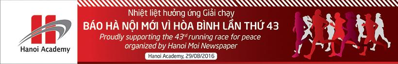 báo Hà Nội Mới Giải chạy báo Hà Nội Mới vì hòa bình lần thứ 43