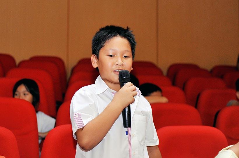 """Em la hs HA 09 Chuyên đề sinh hoạt tập thể """"Em là học sinh Hanoi Academy"""""""