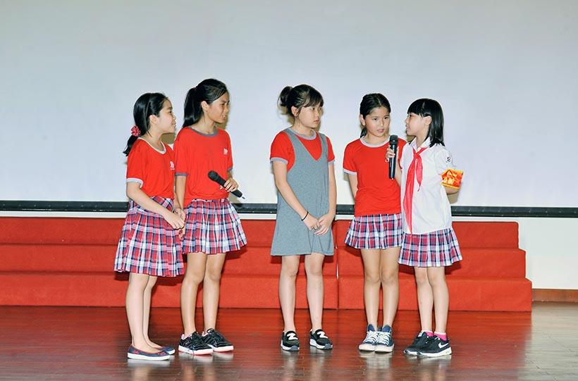 """Em la hs HA 21 Chuyên đề sinh hoạt tập thể """"Em là học sinh Hanoi Academy"""""""