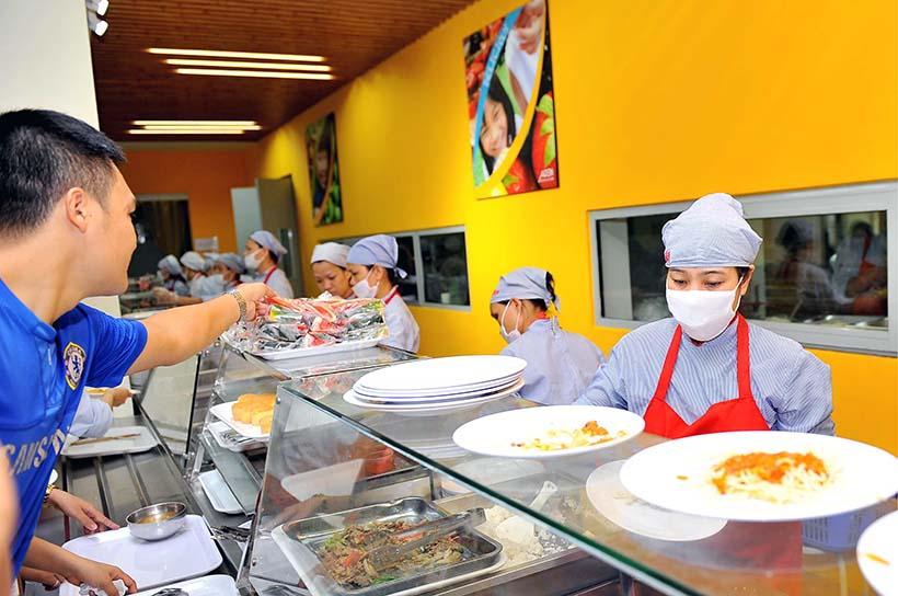 Kham pha Canteen HA 3 Khám phá Canteen Hanoi Academy