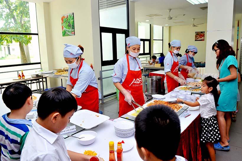 Kham pha Canteen HA 4 Khám phá Canteen Hanoi Academy
