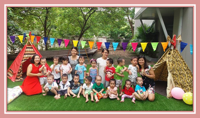 Be chao don ngay thanh lap truong 1 Bé vui chào đón ngày thành lập Trường Song Ngữ Quốc tế Hanoi Academy