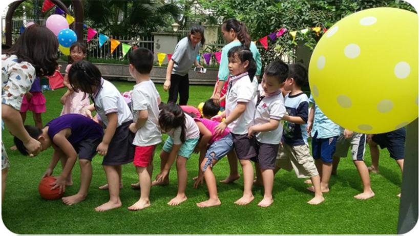 Be chao don ngay thanh lap truong 10 Bé vui chào đón ngày thành lập Trường Song Ngữ Quốc tế Hanoi Academy