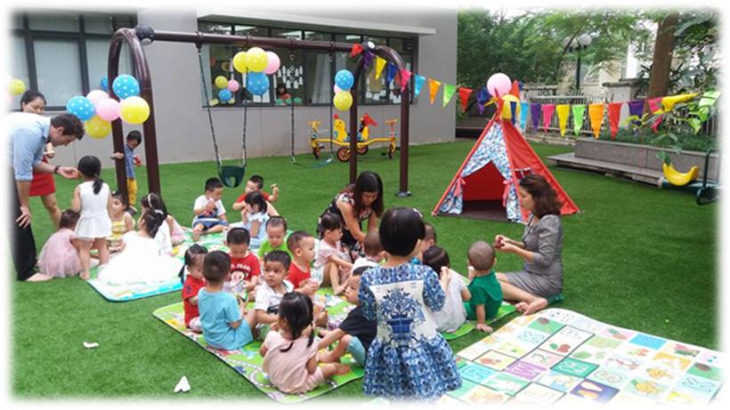 Be chao don ngay thanh lap truong 11 Bé vui chào đón ngày thành lập Trường Song Ngữ Quốc tế Hanoi Academy