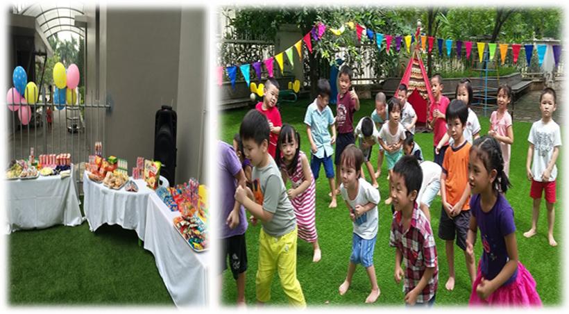 Be chao don ngay thanh lap truong 2 Bé vui chào đón ngày thành lập Trường Song Ngữ Quốc tế Hanoi Academy