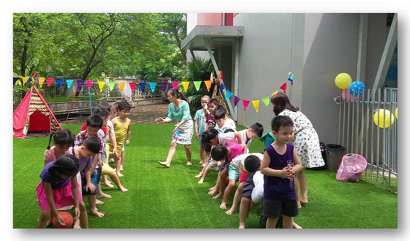 Be chao don ngay thanh lap truong 9 Bé vui chào đón ngày thành lập Trường Song Ngữ Quốc tế Hanoi Academy