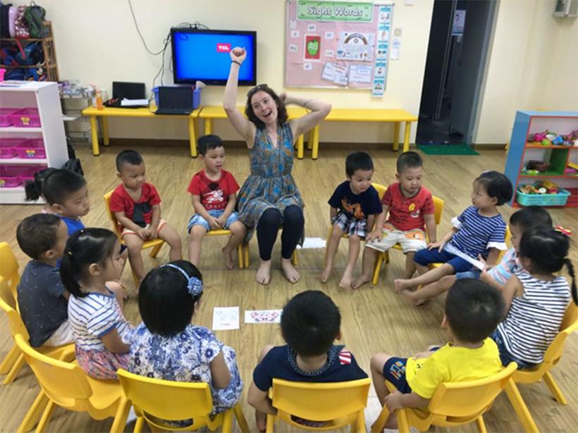 Be tu tin hoc tieng anh 4 Những giờ học lý thú để bé tự tin giao tiếp tiếng Anh!