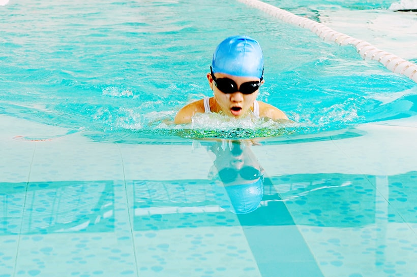 Boi lan than thu 6 3 Giải bơi lặn lần thứ VI trường THCS Hanoi Academy