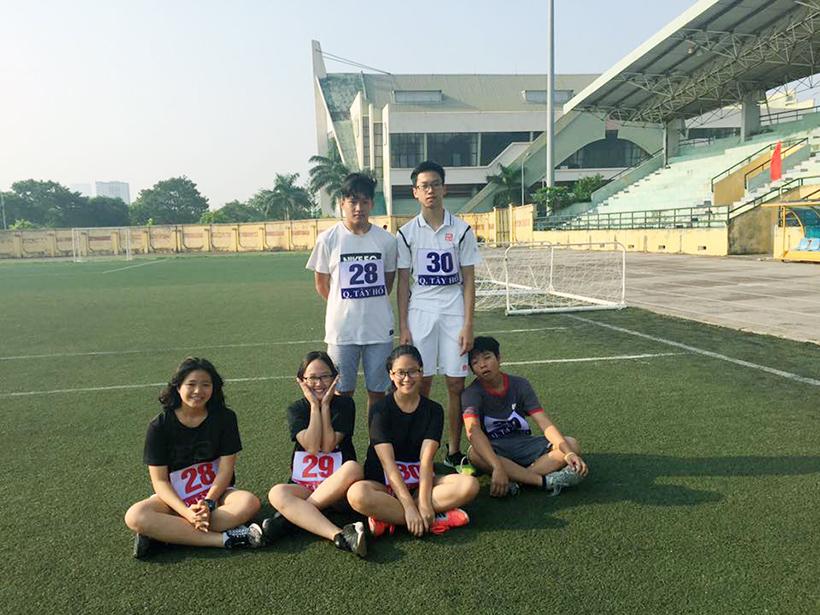 CK giai chay bao HNM vi hoa binh 01 Minh Trang – vận động viên mang lại một khởi đầu tốt đẹp