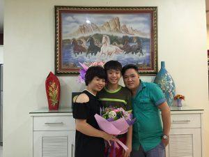 Cảm ơn ngôi trường Hanoi Academy của các con tôi