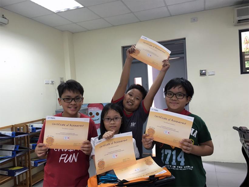 Go English 15 Niềm vui bất ngờ của các thành viên tham gia dự án Go! English