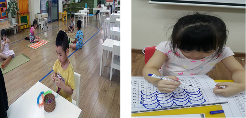 Hoc toan voi tre mam non khong kho 3 Học toán với trẻ mầm non không khó!