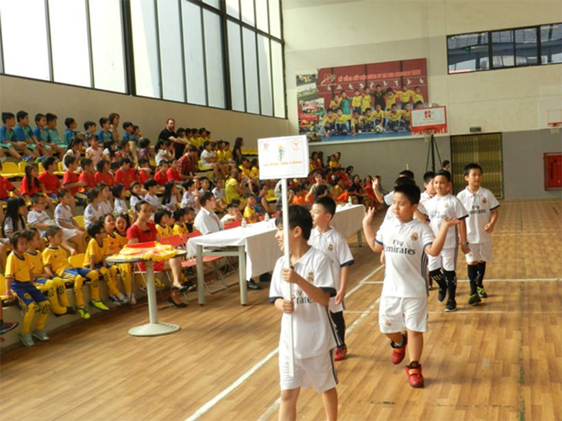 Soi noi HKPD 05 Sôi nổi Lễ khai mạc Hội Khỏe Phù Đổng Trường Tiểu Học Hanoi Academy