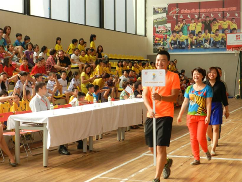 Soi noi HKPD 09 Sôi nổi Lễ khai mạc Hội Khỏe Phù Đổng Trường Tiểu Học Hanoi Academy
