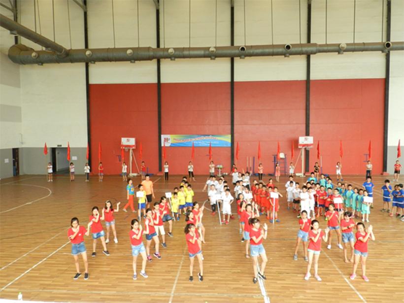 Soi noi HKPD 13 Sôi nổi Lễ khai mạc Hội Khỏe Phù Đổng Trường Tiểu Học Hanoi Academy
