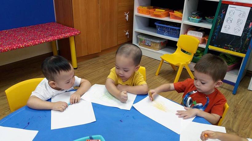 """Truong Mam non 09 Chủ điểm """"trường Mầm non"""" của bé"""