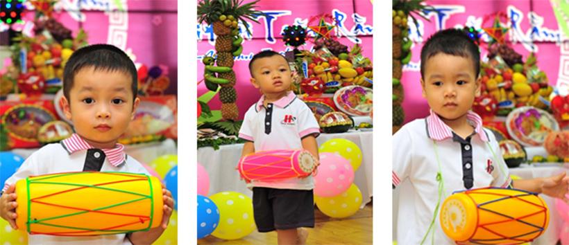 """Vui hoi trang ram cua be MN 12 """"Vui hội trăng rằm"""" của các bé trường Mầm non Hanoi Academy"""
