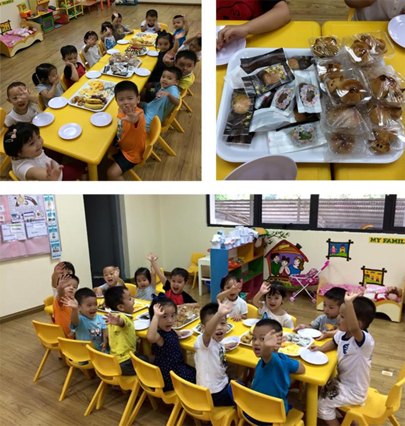 """Vui hoi trang ram cua be MN 20 """"Vui hội trăng rằm"""" của các bé trường Mầm non Hanoi Academy"""