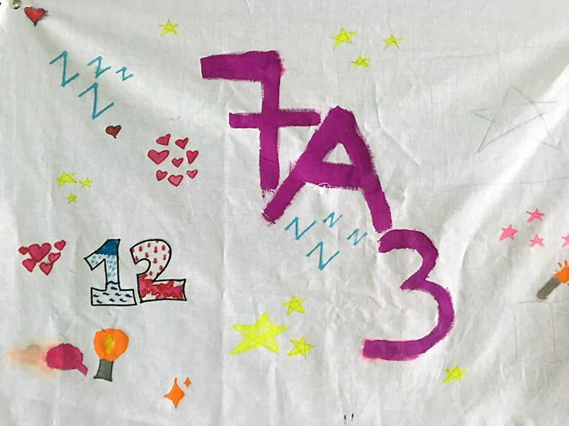 7A3 Lá cờ sức mạnh của những tập thể lớp trường THCS Hanoi Academy