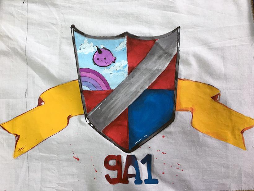 9A1 Lá cờ sức mạnh của những tập thể lớp trường THCS Hanoi Academy