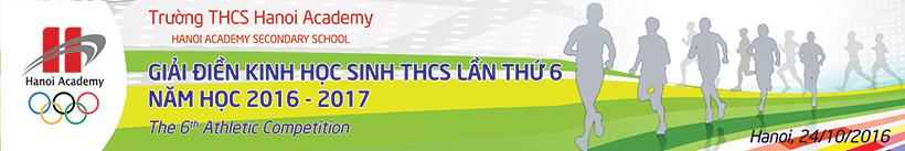 Giải thi đấu thể thao của học sinh THCS Hanoi Academy Thư mời: giải thi đấu thể thao của học sinh THCS Hanoi Academy