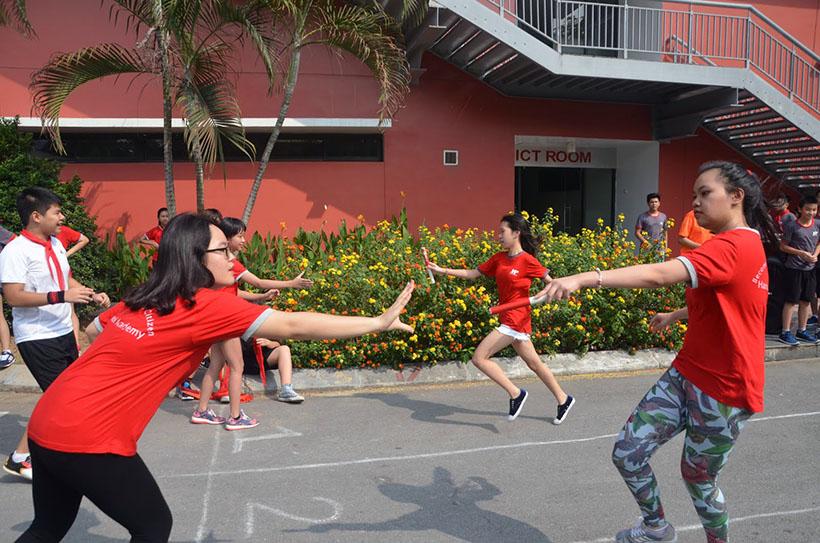 DK lan VI THCS 11 Giải điền kinh lần thứ VI trường THCS Hanoi Academy