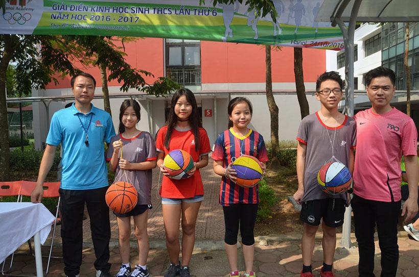 DK lan VI THCS 4 Giải điền kinh lần thứ VI trường THCS Hanoi Academy