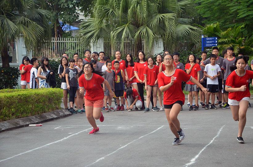 DK lan VI THCS 6 Giải điền kinh lần thứ VI trường THCS Hanoi Academy