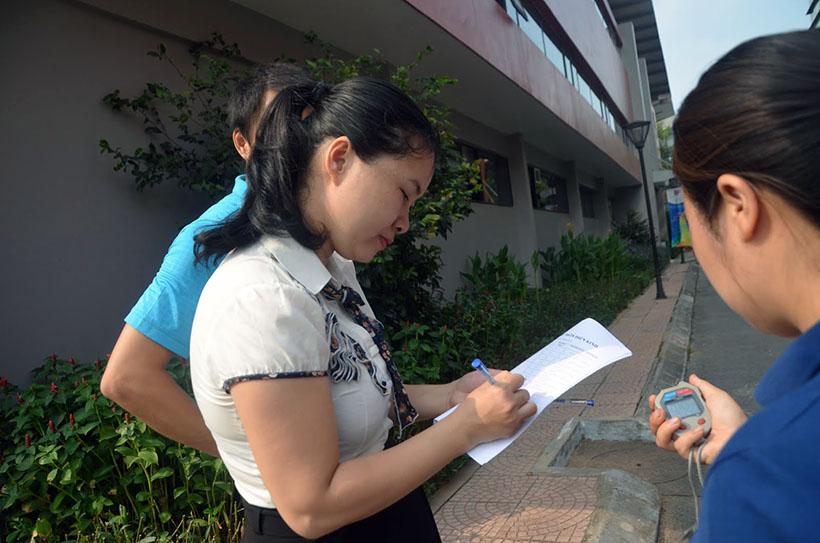 DK lan VI THCS 8 Giải điền kinh lần thứ VI trường THCS Hanoi Academy