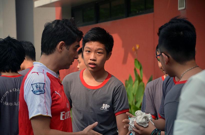 DK lan VI THCS 9 Giải điền kinh lần thứ VI trường THCS Hanoi Academy