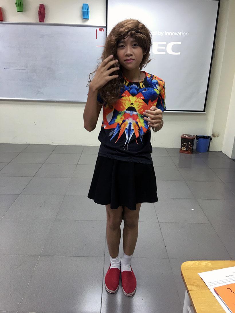 Donkihote 2 Đôn-ki-hô-tê và hành trình đến với học sinh Hanoi Academy