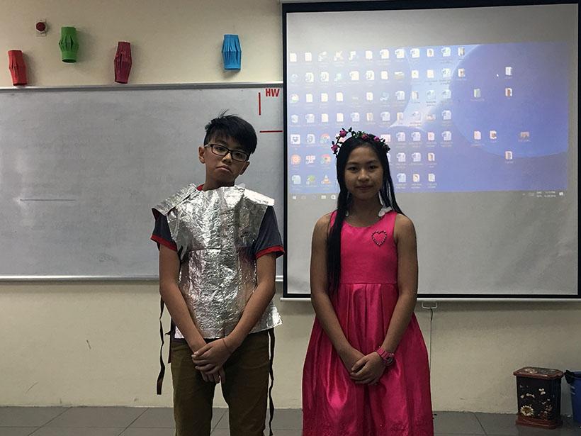 Donkihote 7 Đôn-ki-hô-tê và hành trình đến với học sinh Hanoi Academy