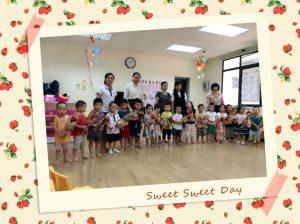 Những hoạt động chào mừng ngày 20-10 của các bé lớp Bunny