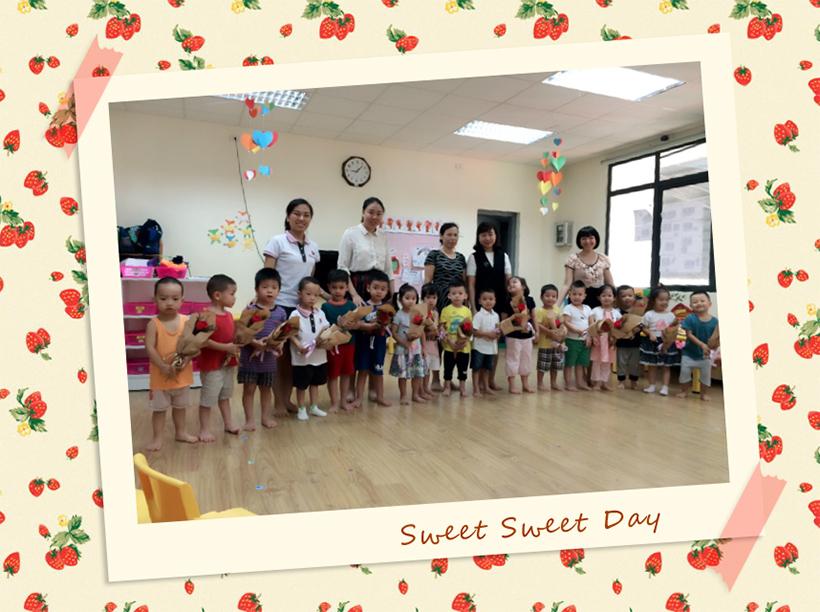 Hoat dong 20-10 lop Bunny 5 Những hoạt động chào mừng ngày 20-10 của các bé lớp Bunny