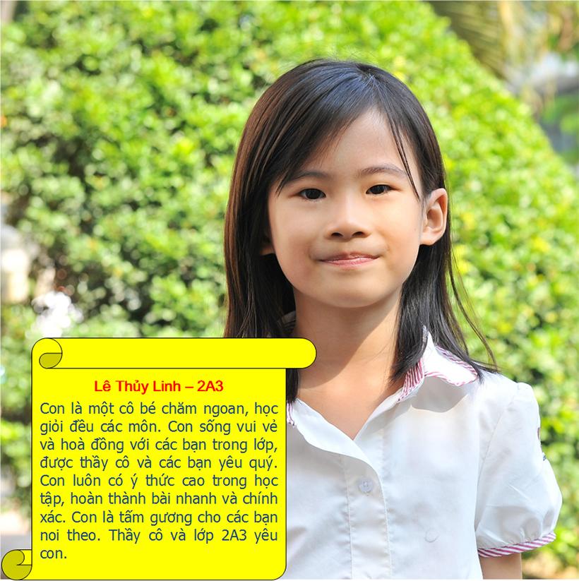 Hs tieu bieu t9 07 Student of the month – September