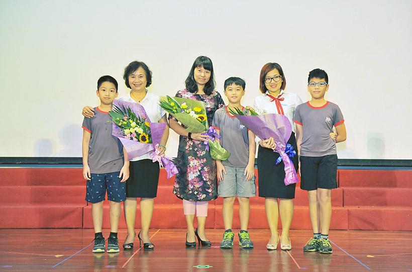 """Me va co 2 nguoi me hien 3 Trường Tiểu học Hanoi Academy với chuyên đề sinh hoạt tập thể """"Mẹ và Cô – Hai người mẹ hiền"""""""