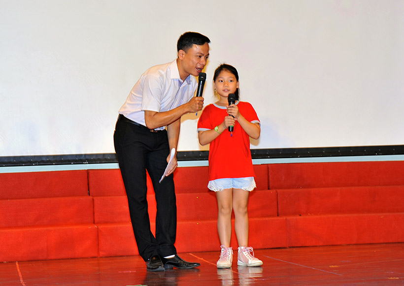 """Me va co 2 nguoi me hien 4 Trường Tiểu học Hanoi Academy với chuyên đề sinh hoạt tập thể """"Mẹ và Cô – Hai người mẹ hiền"""""""