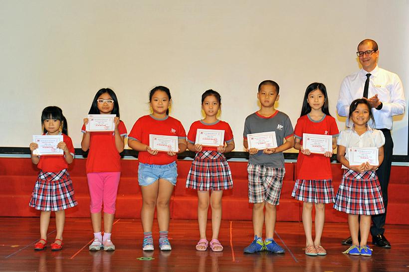 """Me va co 2 nguoi me hien 7 Trường Tiểu học Hanoi Academy với chuyên đề sinh hoạt tập thể """"Mẹ và Cô – Hai người mẹ hiền"""""""